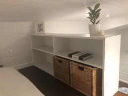 Custom Bedroom shelving